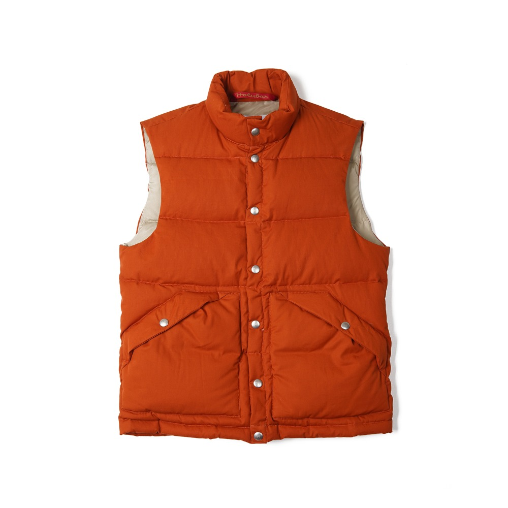 "HOLUBAR Deep Powder Vest ""Dark Orange"""