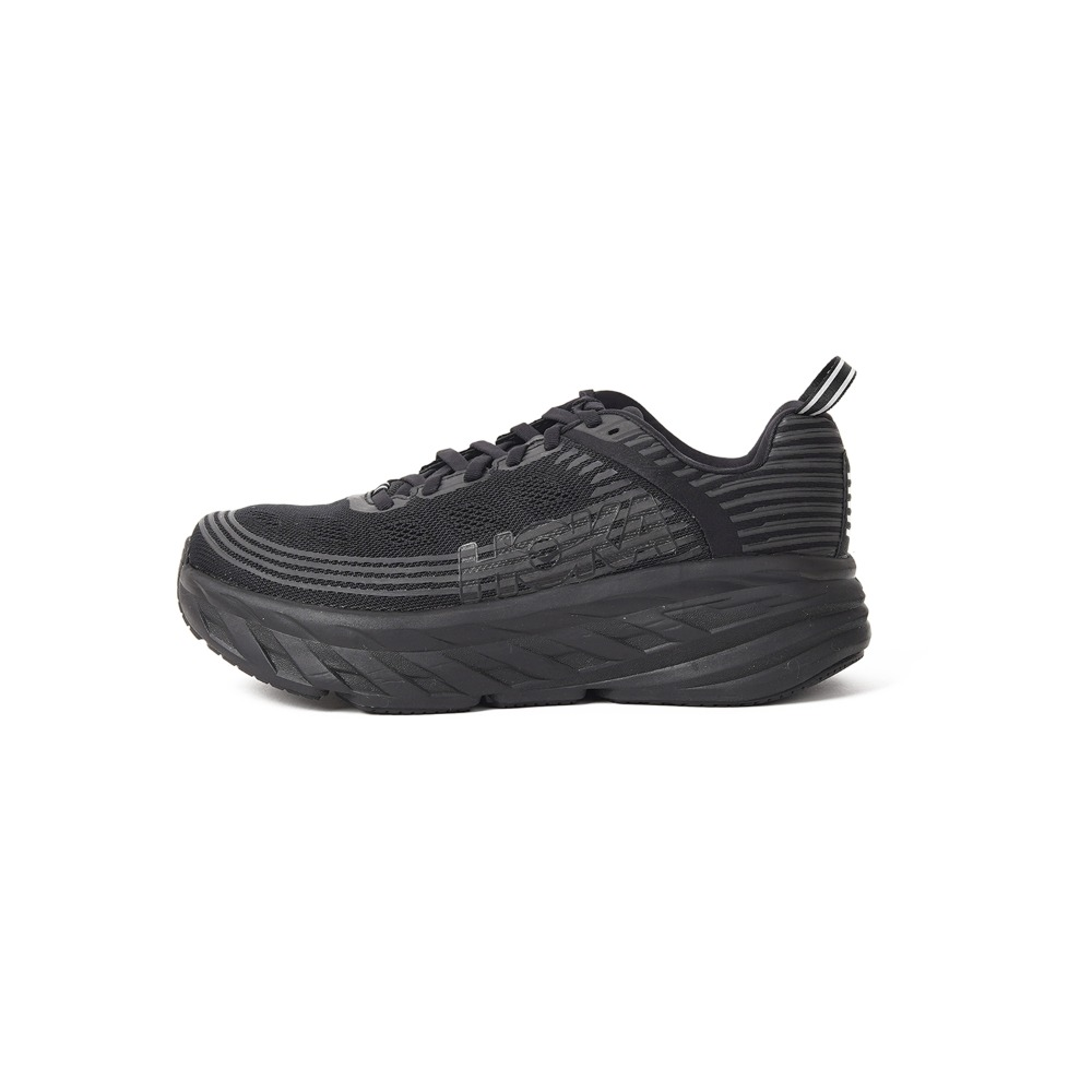 "HOKA ONE ONE Bondi 6 Wide Fit ""Black"""