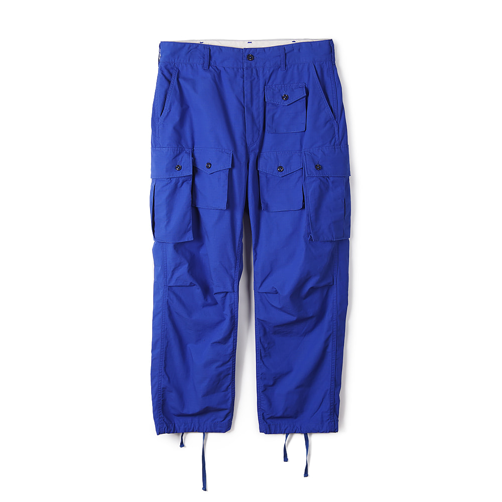 "ENGINEERED GARMENTS Cotton Ripstop FA Pant ""Royal"""