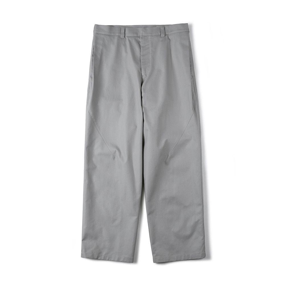 "SHIRTER Side Tuck Wide Pants ""Light Grey"""