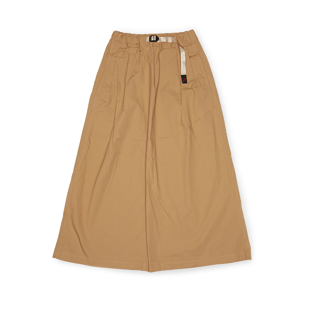 "GRAMICCI Weather Long Flare Skirt ""Sand"""