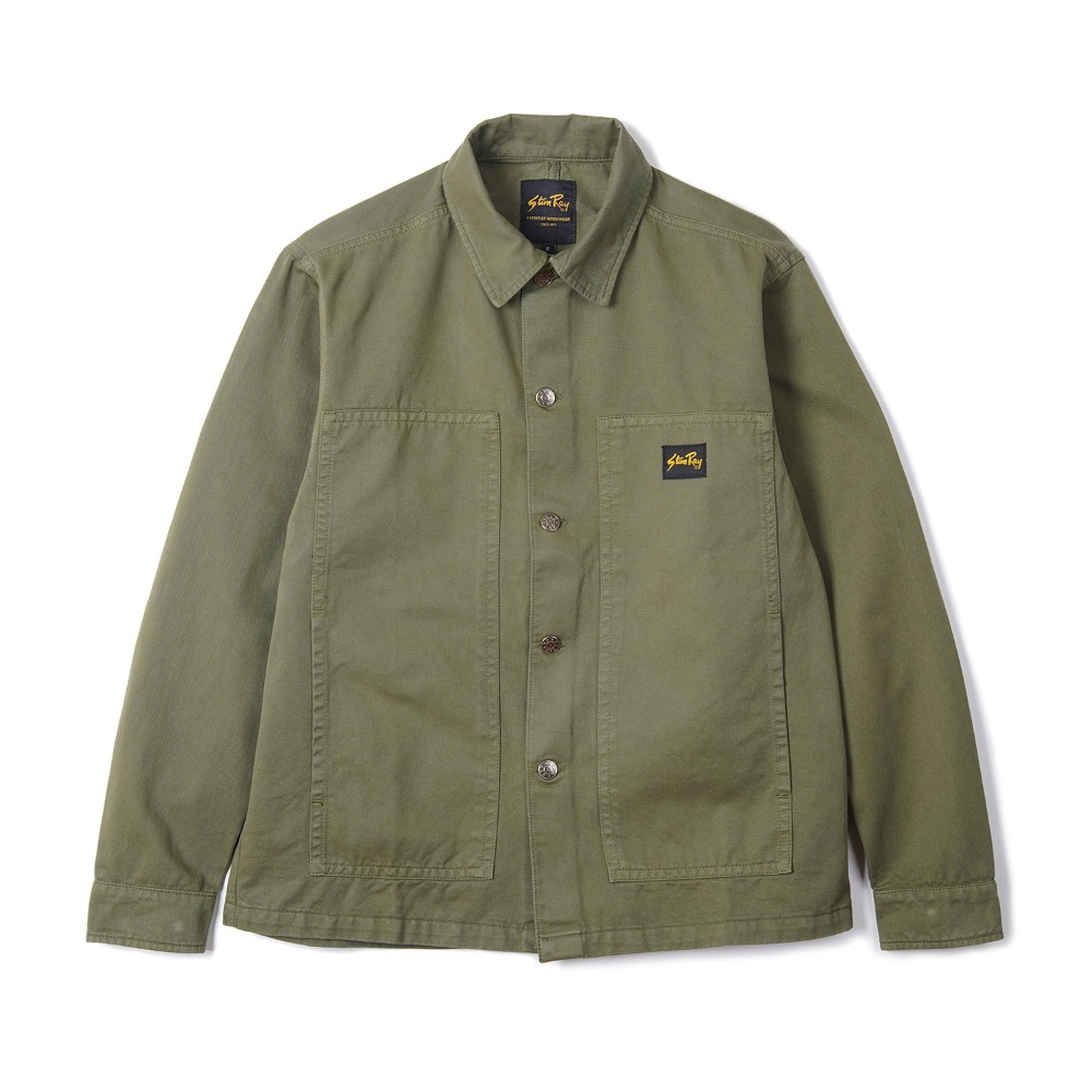 "STAN RAY Box Jacket ""Olive OD Natural"""