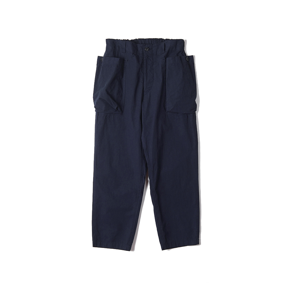 "Sage De Cret 9/10 Length Work Pants ""Navy"""