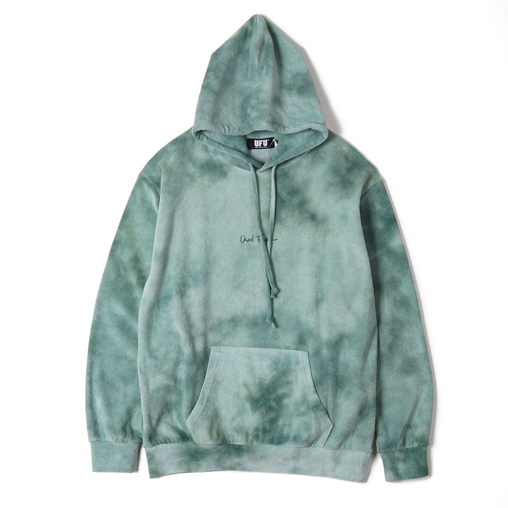 "USED FUTURE Juicy Hoodie ""Green"""