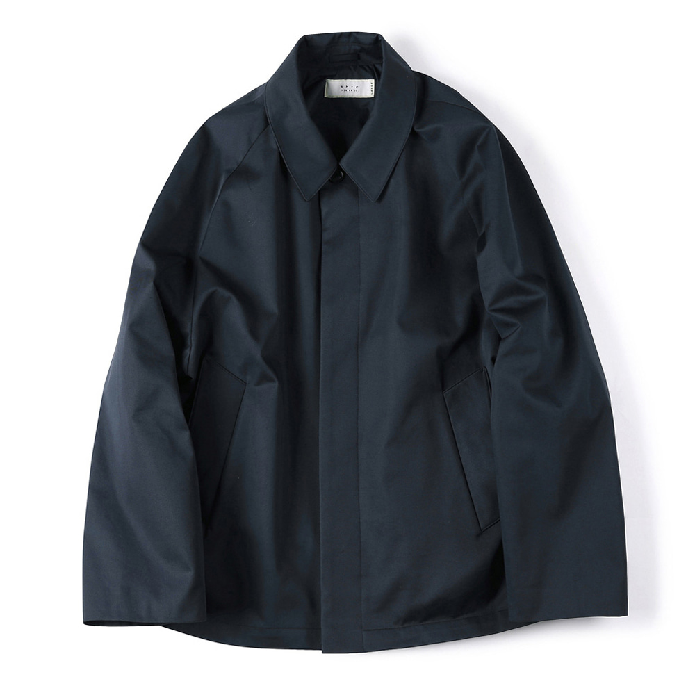 "SHIRTER Supima Cotton Jacket ""Navy"""