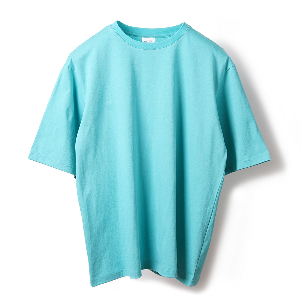 NOCLAIM Colorful Over fit T-shirt / Ocean