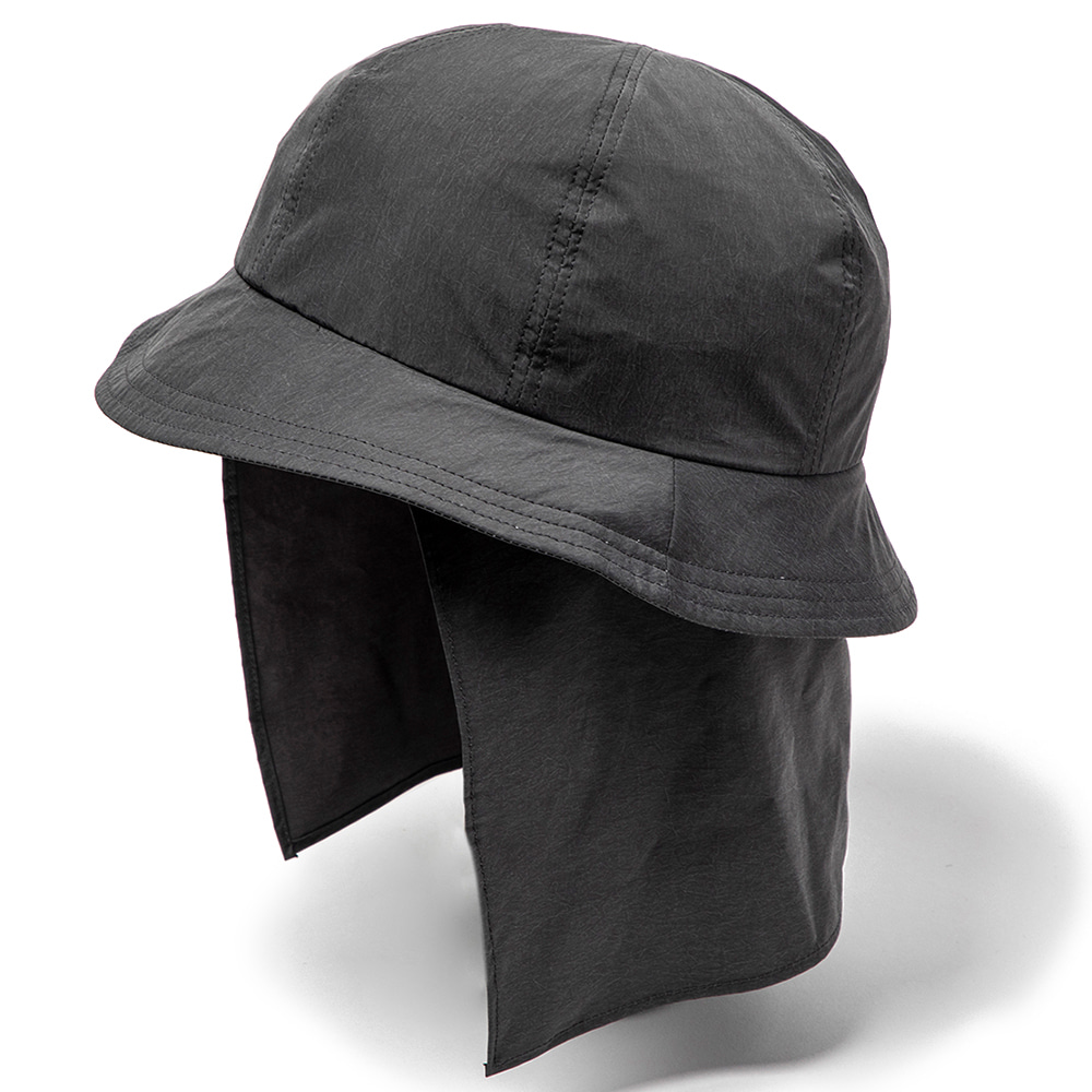 "MEANSWHILE Nylon Shade Cover Hat ""Charcoal"""