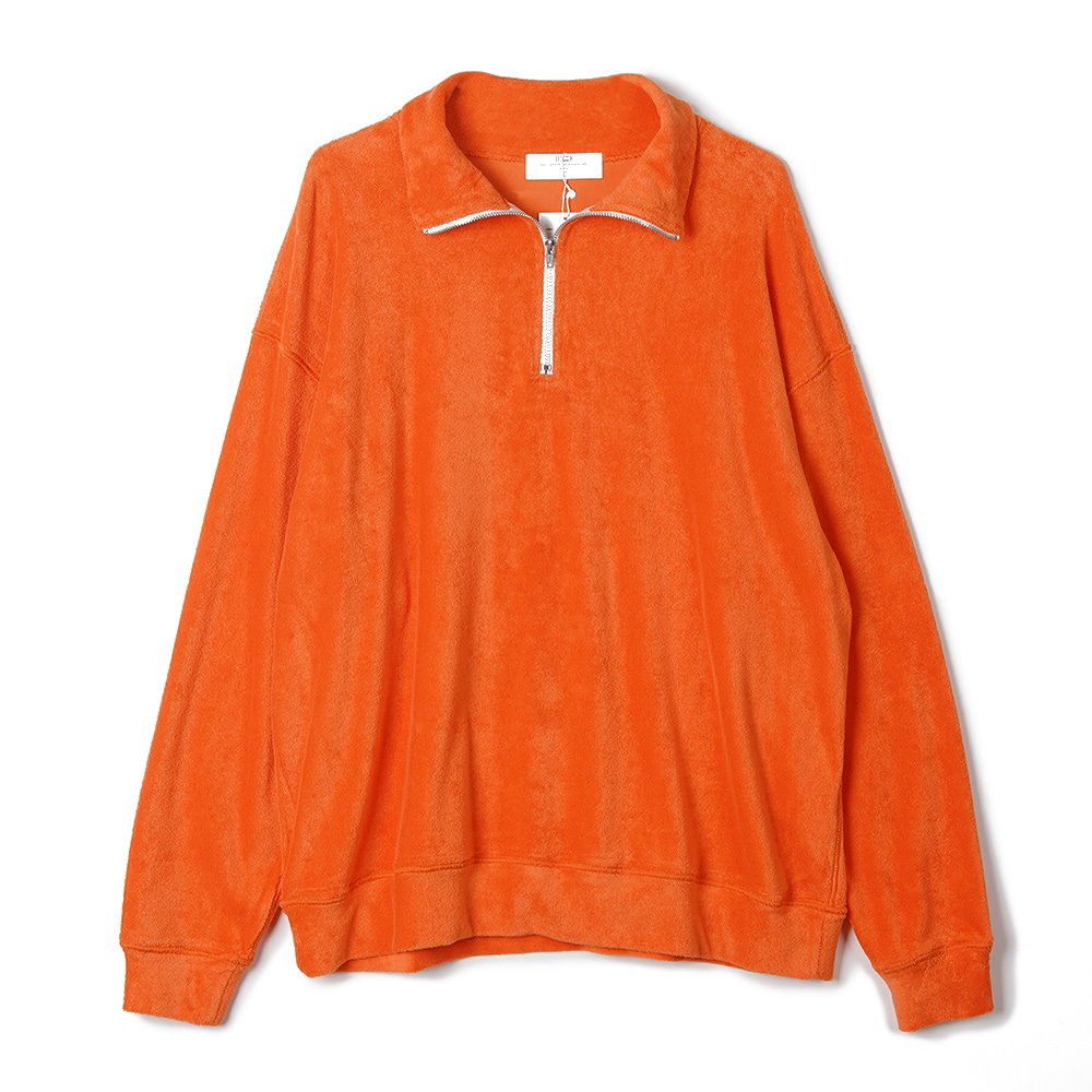 "BUNT Pile Zip Up Shirts ""Orange"""