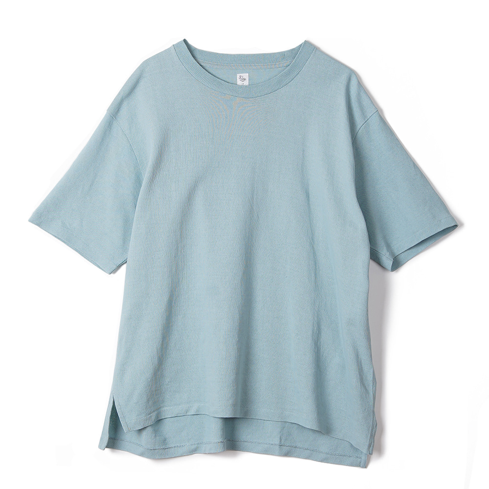 "KAPTAIN SUNSHINE Crewneck Pullover Knit Tee ""Mint Green"""