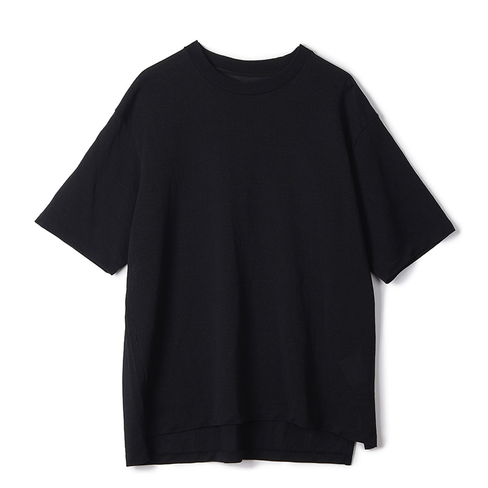 "KAPTAIN SUNSHINE Crewneck Pullover Knit Tee ""Black"""