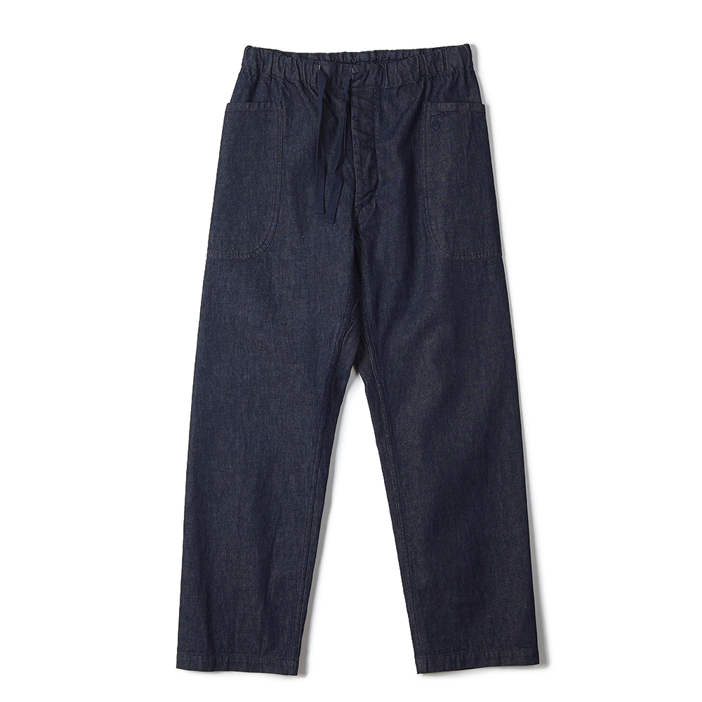 "ORCIVAL 10oz Denim Easy Wide Pants ""Indigo"""