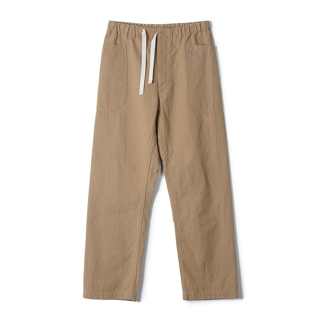 "ORCIVAL Easy Chino Wide Pants ""Beige"""