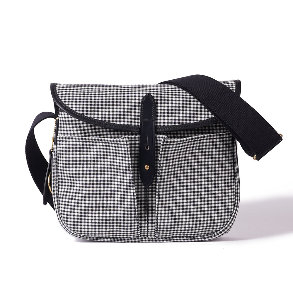 "BRADY BAGS STOUR Fishing Bag ""Small Gingham"""