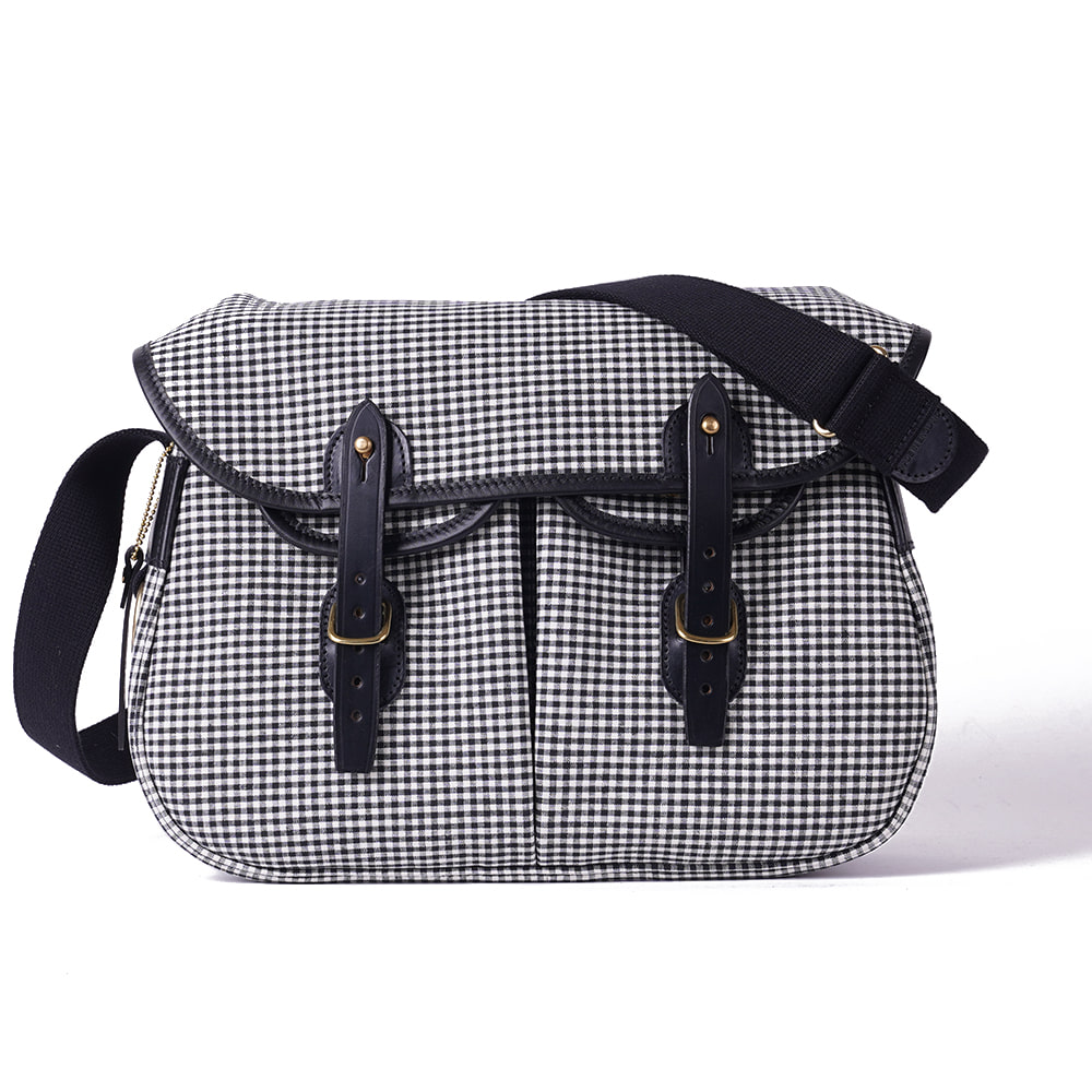 "BRADY BAGS Small ARIEL TROUT Fishing Bag ""Small Gingham"""