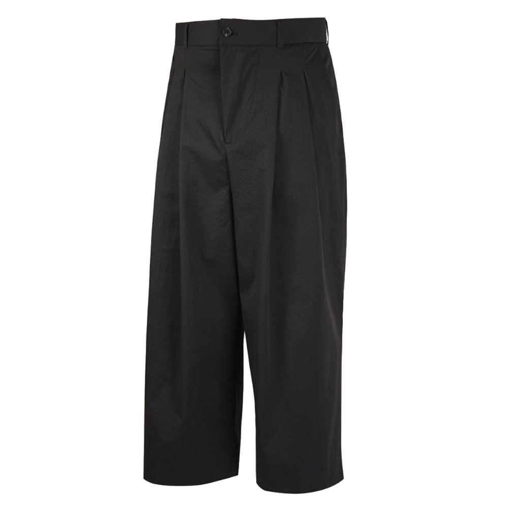 "OOPARTS Wide-leg cropped pants ""Black"""