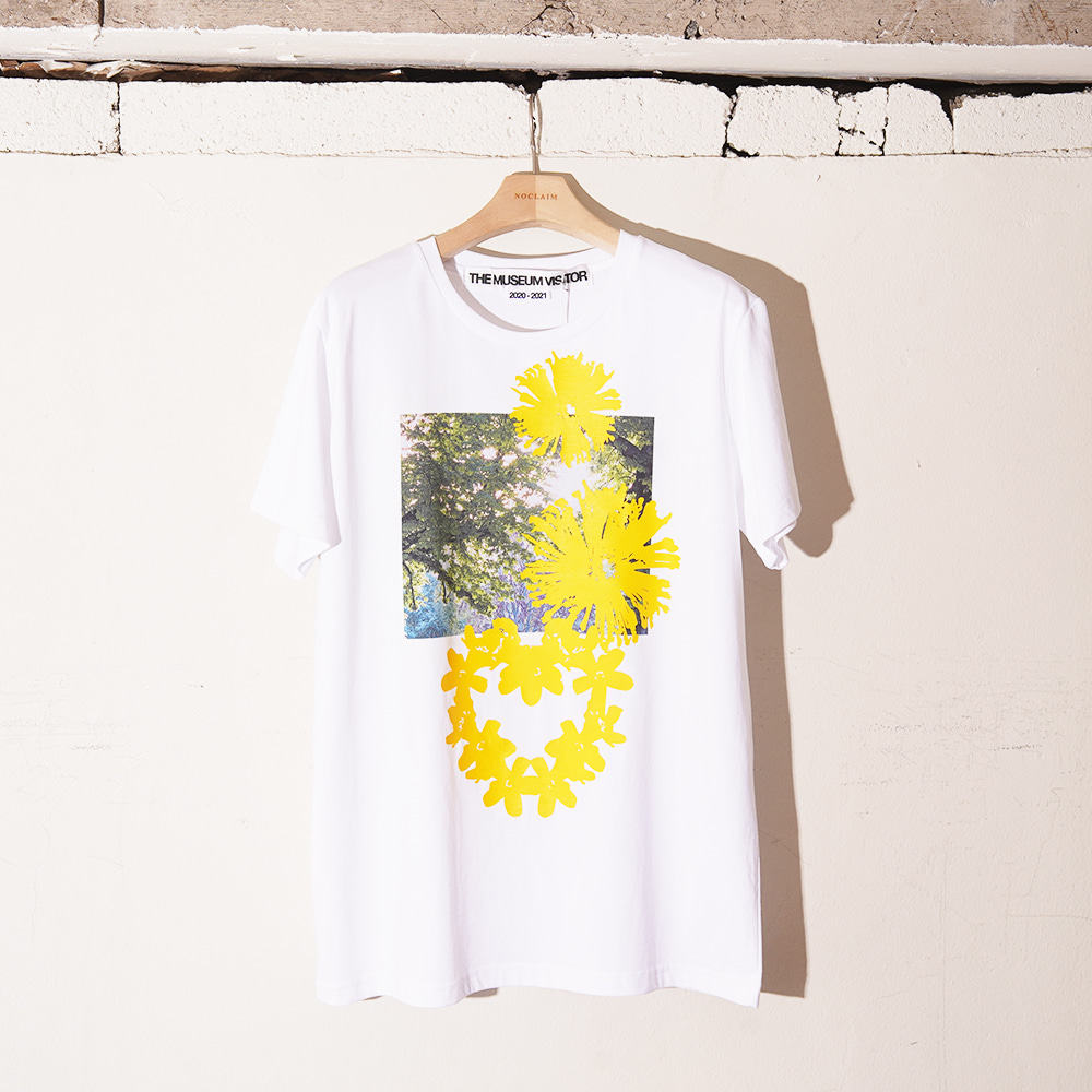 "THE MUSEUM VISITOR Nature T-Shirts ""White"""