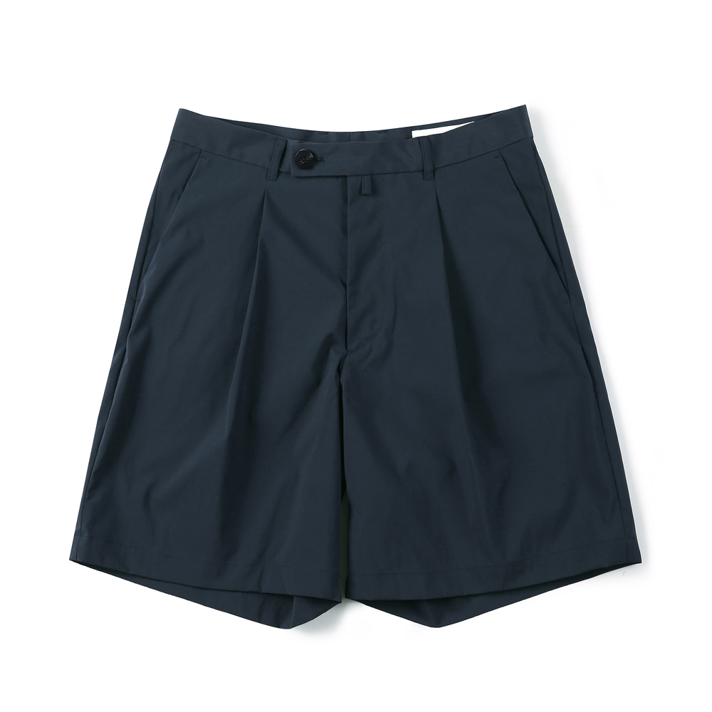 "SHIRTER Eco Dry Light Wide Shorts ""Navy"""