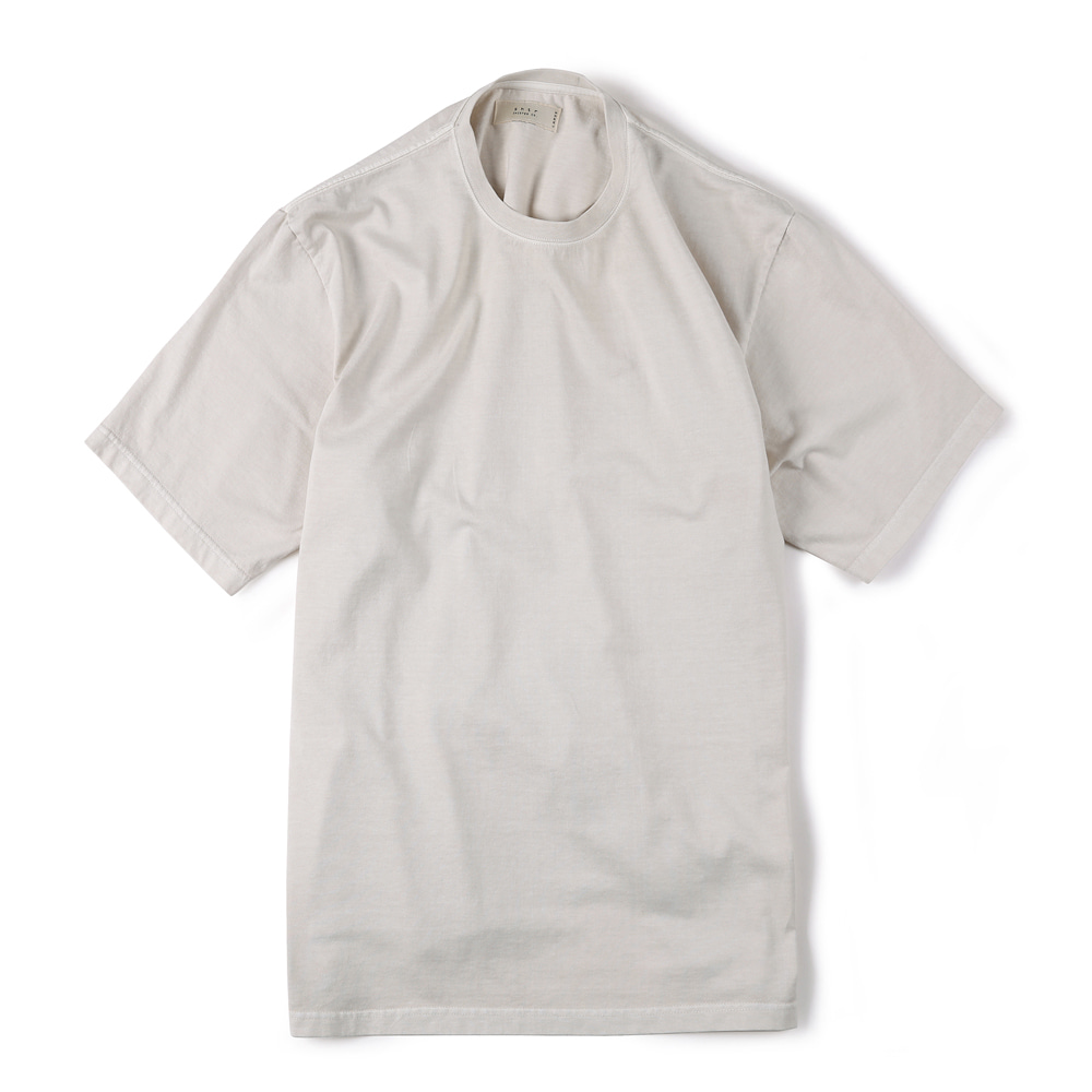 "SHIRTER Garment Dyed T-Shirt ""Ivory"""