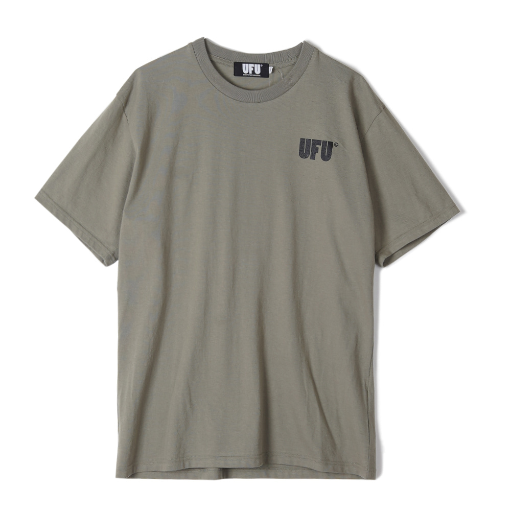 "USED FUTURE AD T-Shirt ""Khaki"""
