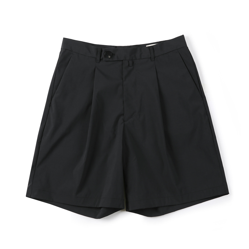 "SHIRTER Eco Dry Light Wide Shorts ""Black"""