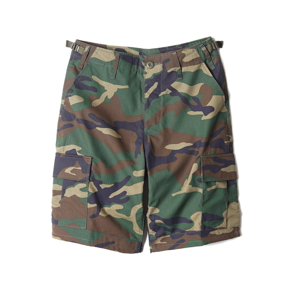 "YMCL KY US BDU Ripstop Shorts ""Woodland"""
