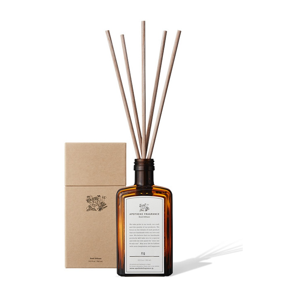 "APOTHEKE FRAGRANCE Reed Diffuser ""Fig"""