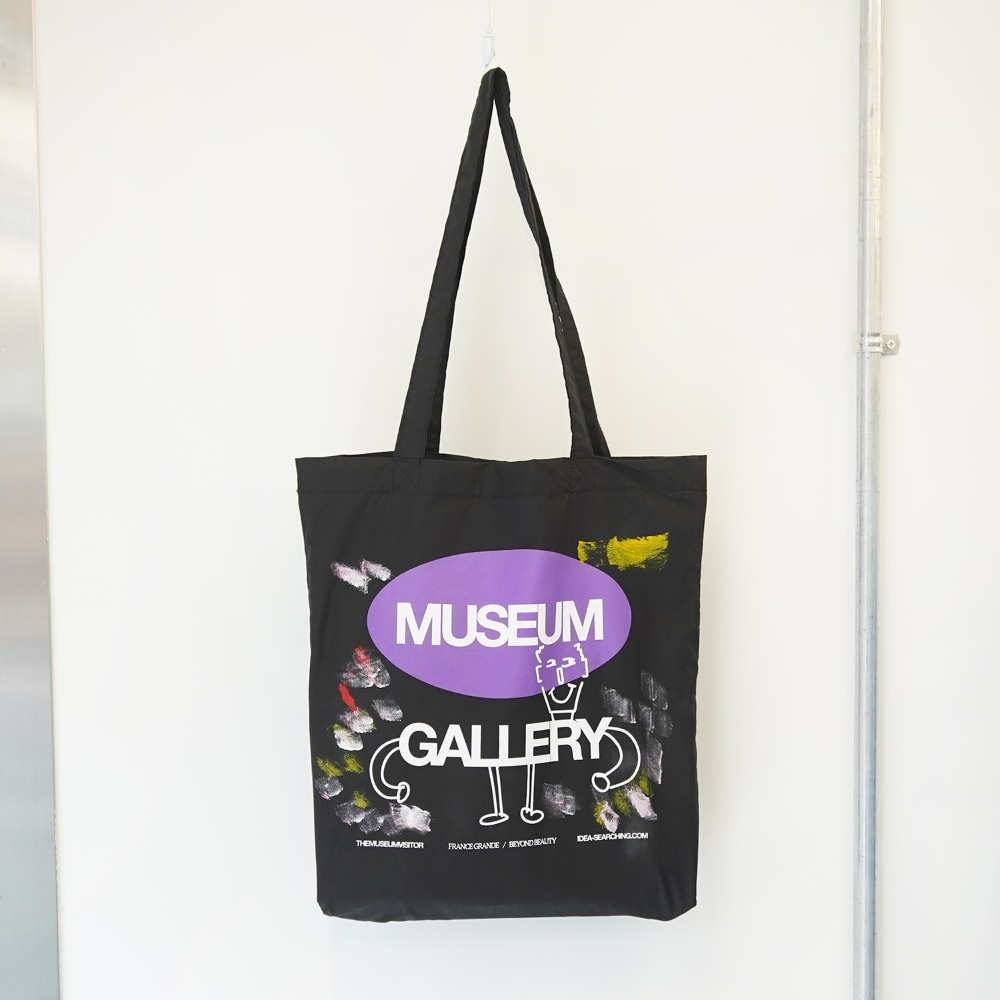 "THE MUSEUM VISITOR Museum Gallery Ecobag ""Black"""