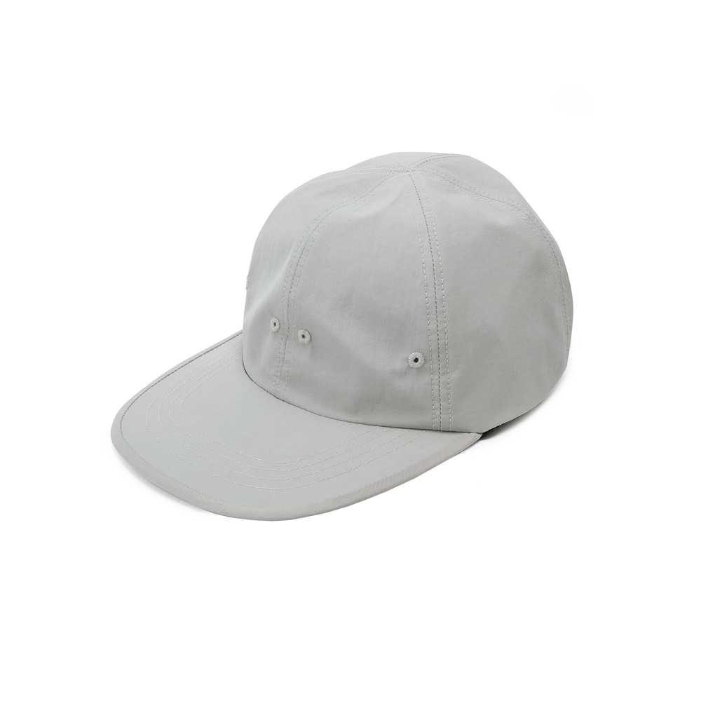 "SHIRTER Long Visor 6panel Cap ""Light Grey"""