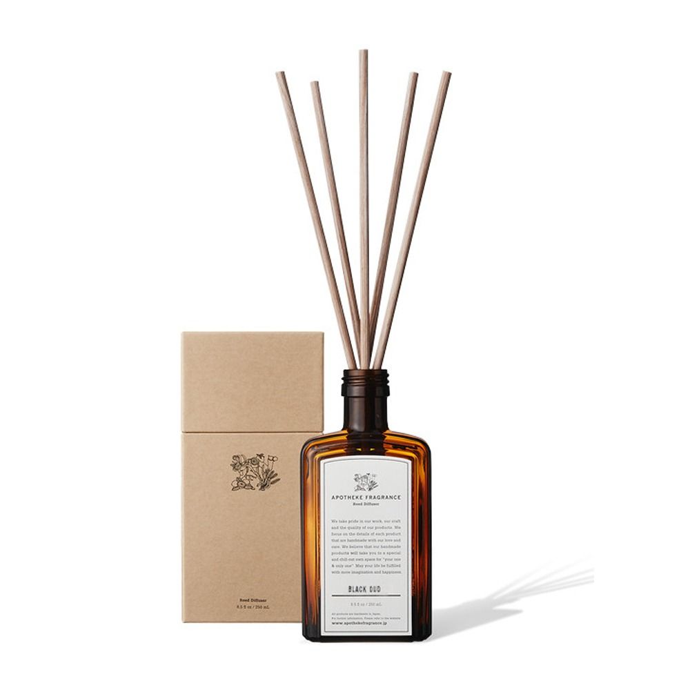 "APOTHEKE FRAGRANCE Reed Diffuser ""Black Oud"""