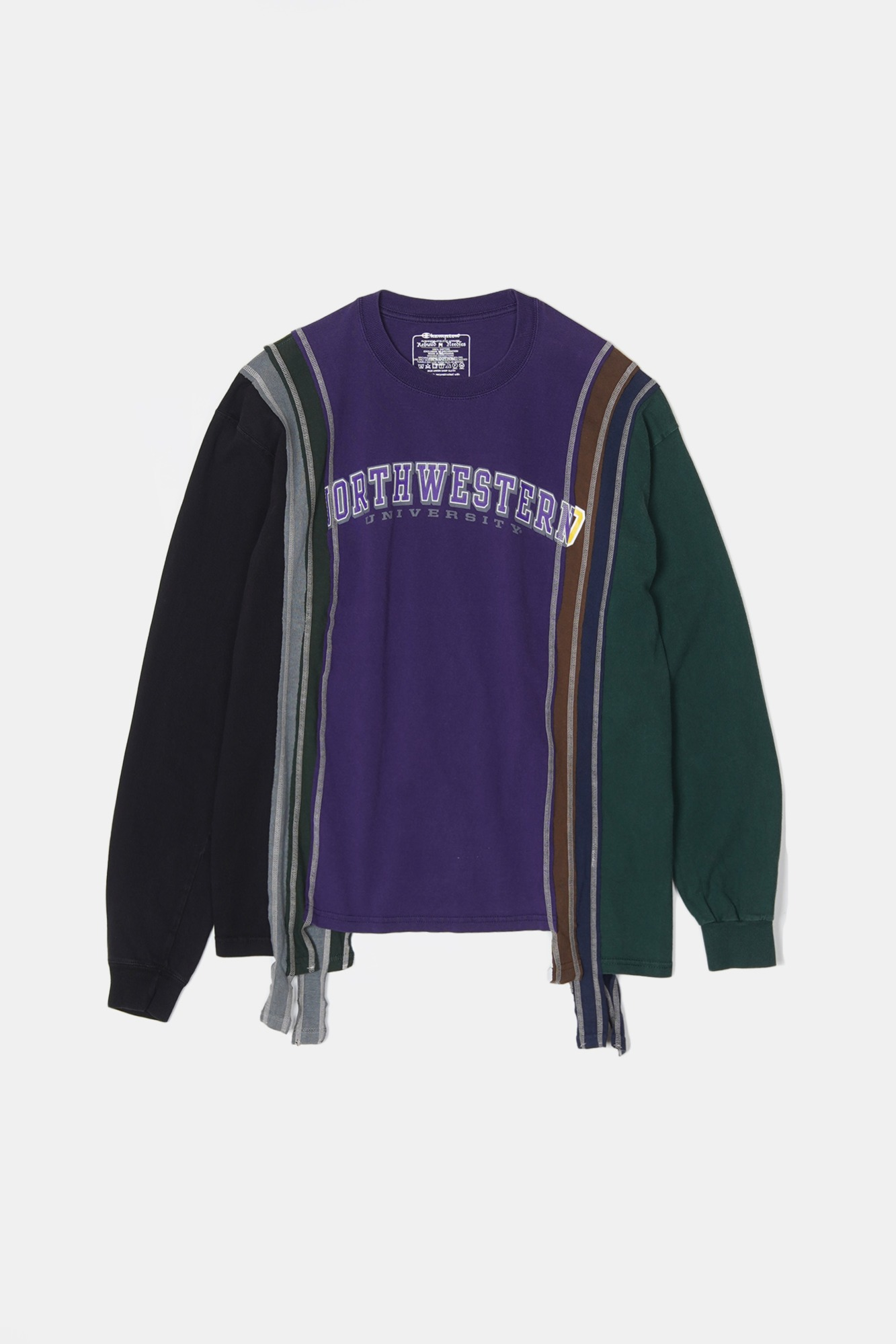 REBUILD BY NEEDLES 7 Cuts L/S College Tee 3