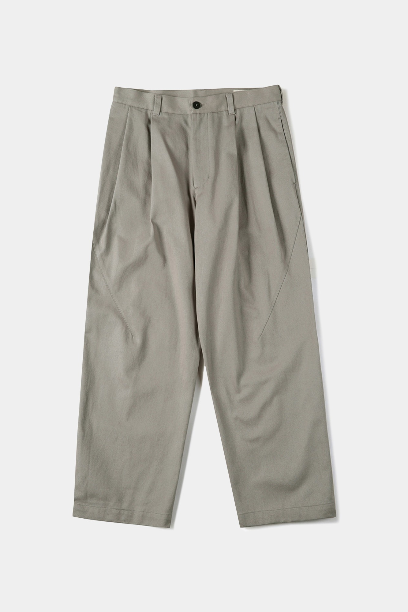 "SHIRTER Two Tuck Jar Pants ""Sand Beige"""