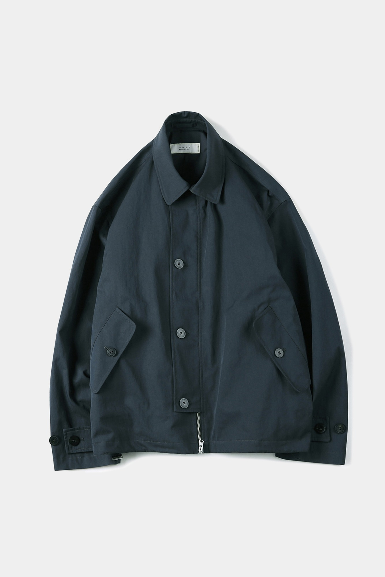 "SHIRTER High Density Twill Gabardine Jacket ""Blue Green"""