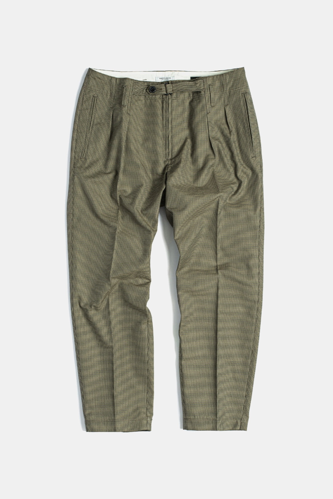 "EASTLOGUE Explorer Pants ""Beige Gunclub Check"""