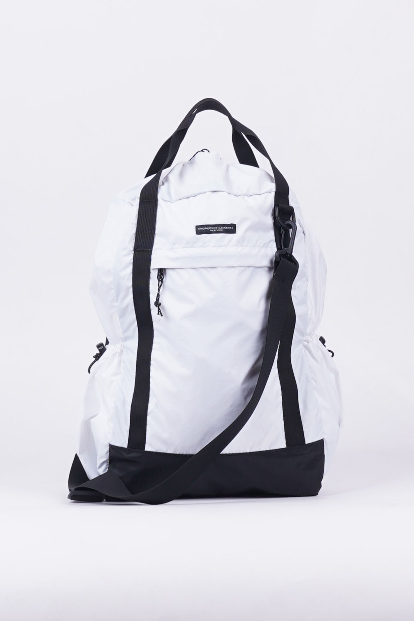 "ENGINEERED GARMENTS UL 3 Way Bag ""White Nylon Ripstop"""