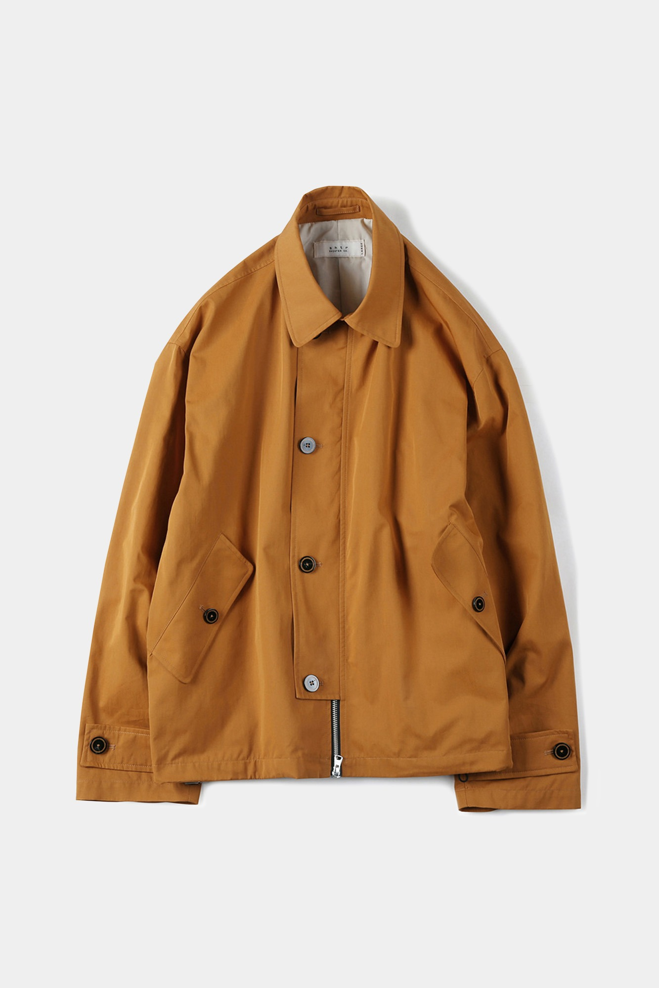 "SHIRTER High Density Twill Gabardine Jacket ""Mustard"""