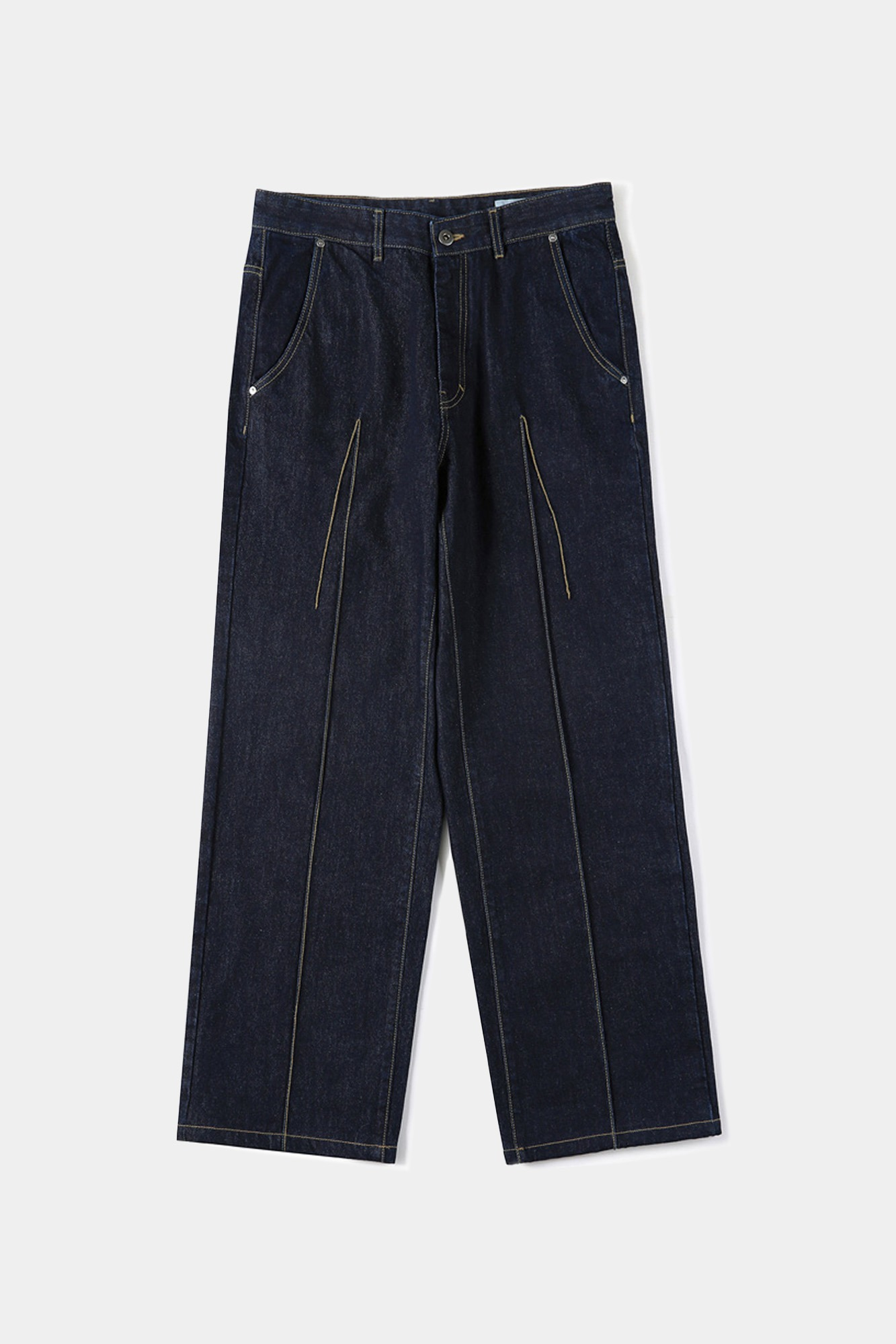 "SHIRTER Wide Original Denim Pants ""Indigo"""