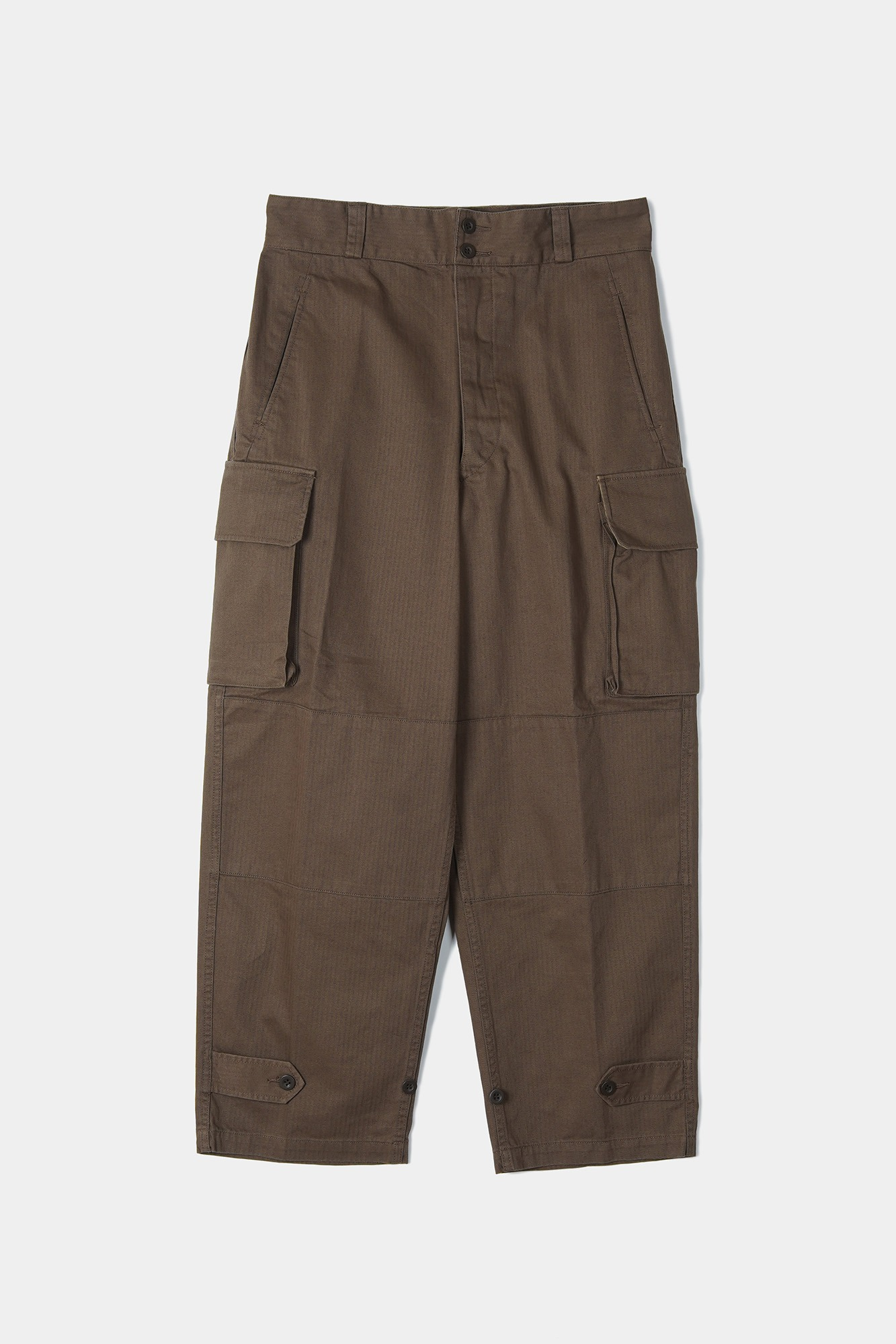 "YMCL KY French Military M47 Field Pants ""Brown"""