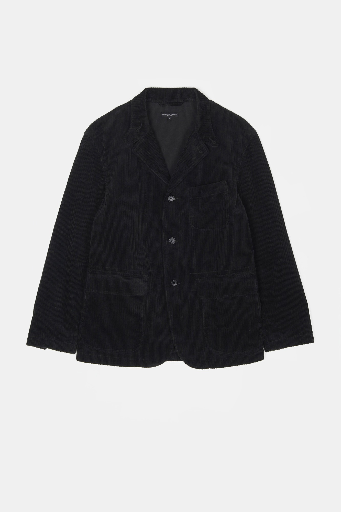 "ENGINEERED GARMENTS Loiter Jacket ""Black Hi-Lo Corduroy"""