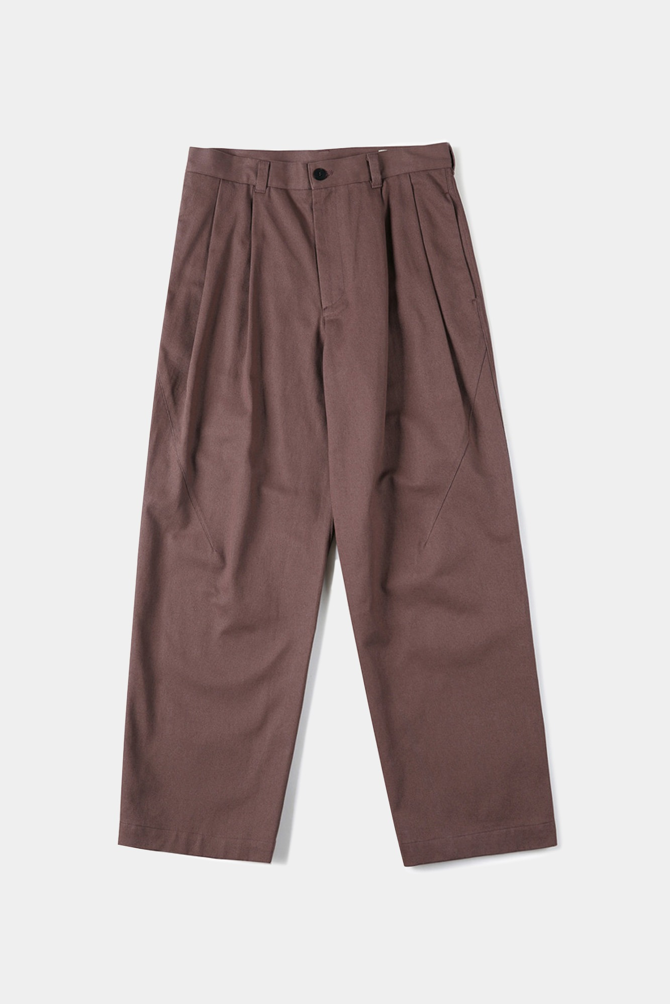 "SHIRTER Two Tuck Jar Pants ""Marsala"""