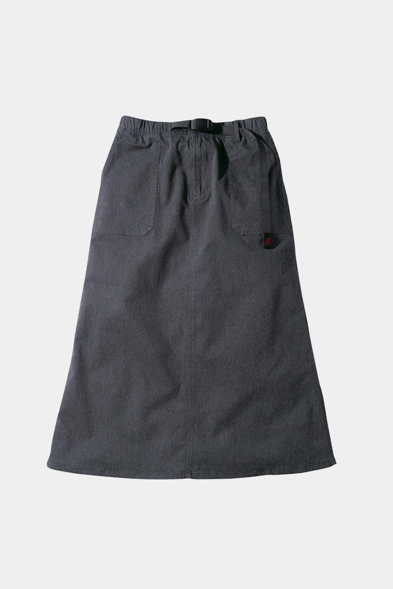 "GRAMICCI Baker Skirt ""Heather Charcoal"""