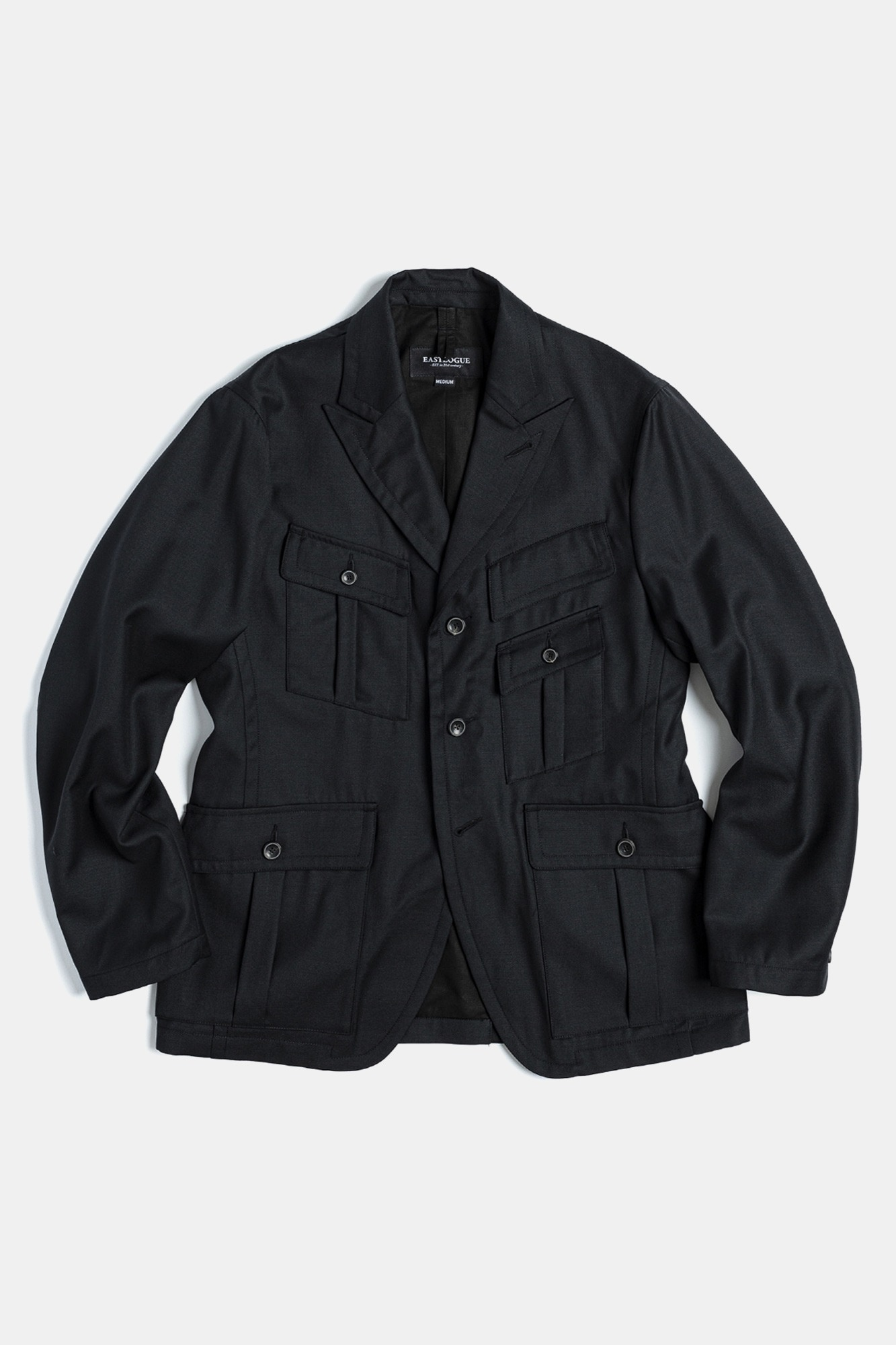 "EASTLOGUE Explorer Jacket ""Black Wool"""