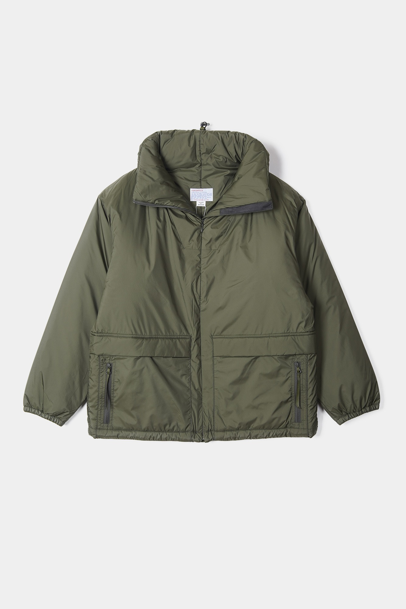 "NANAMICA nanamican Insulation Jacket ""Khaki"""