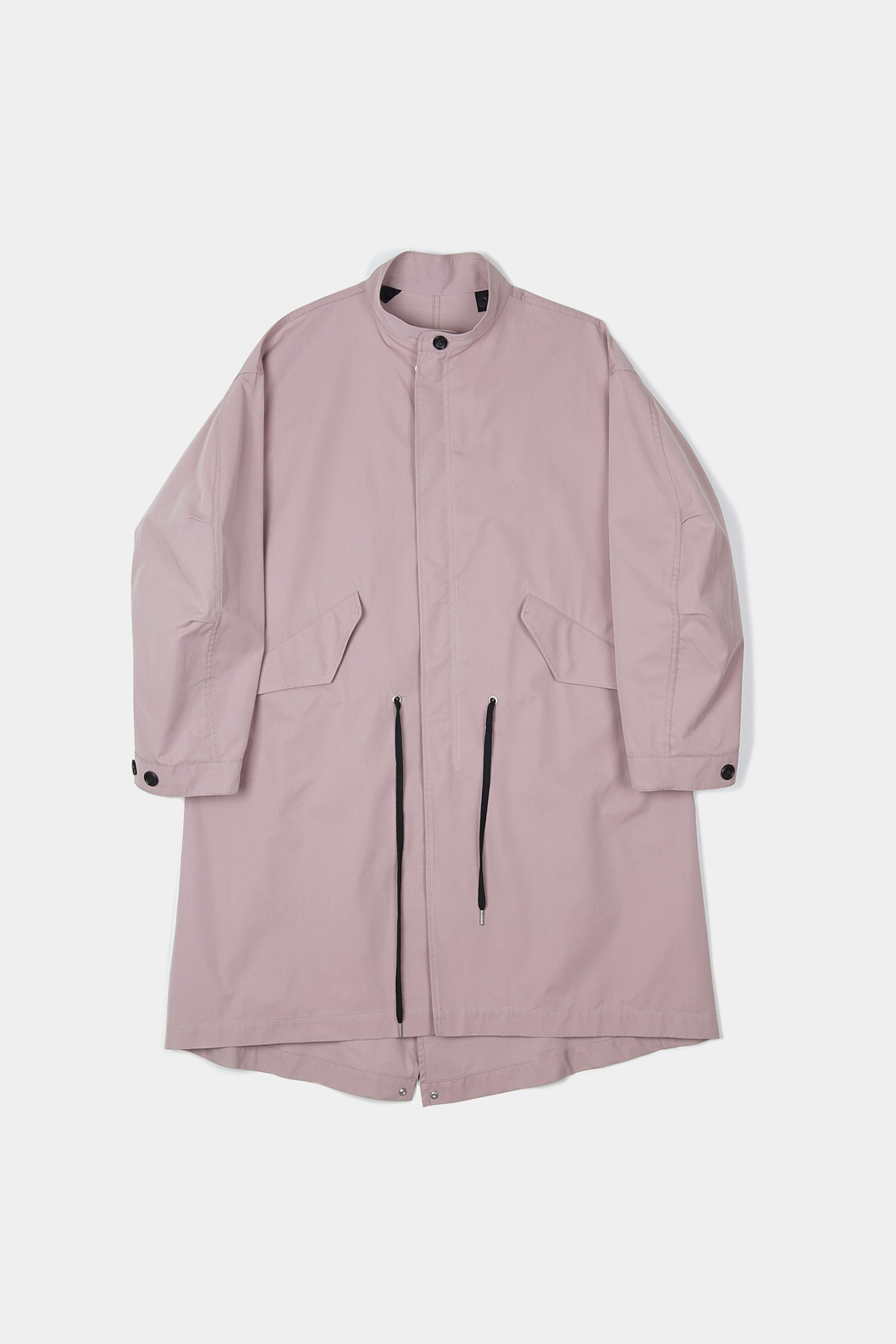 "BIRTHDAYSUIT Fishtail Parka ""Pink"""