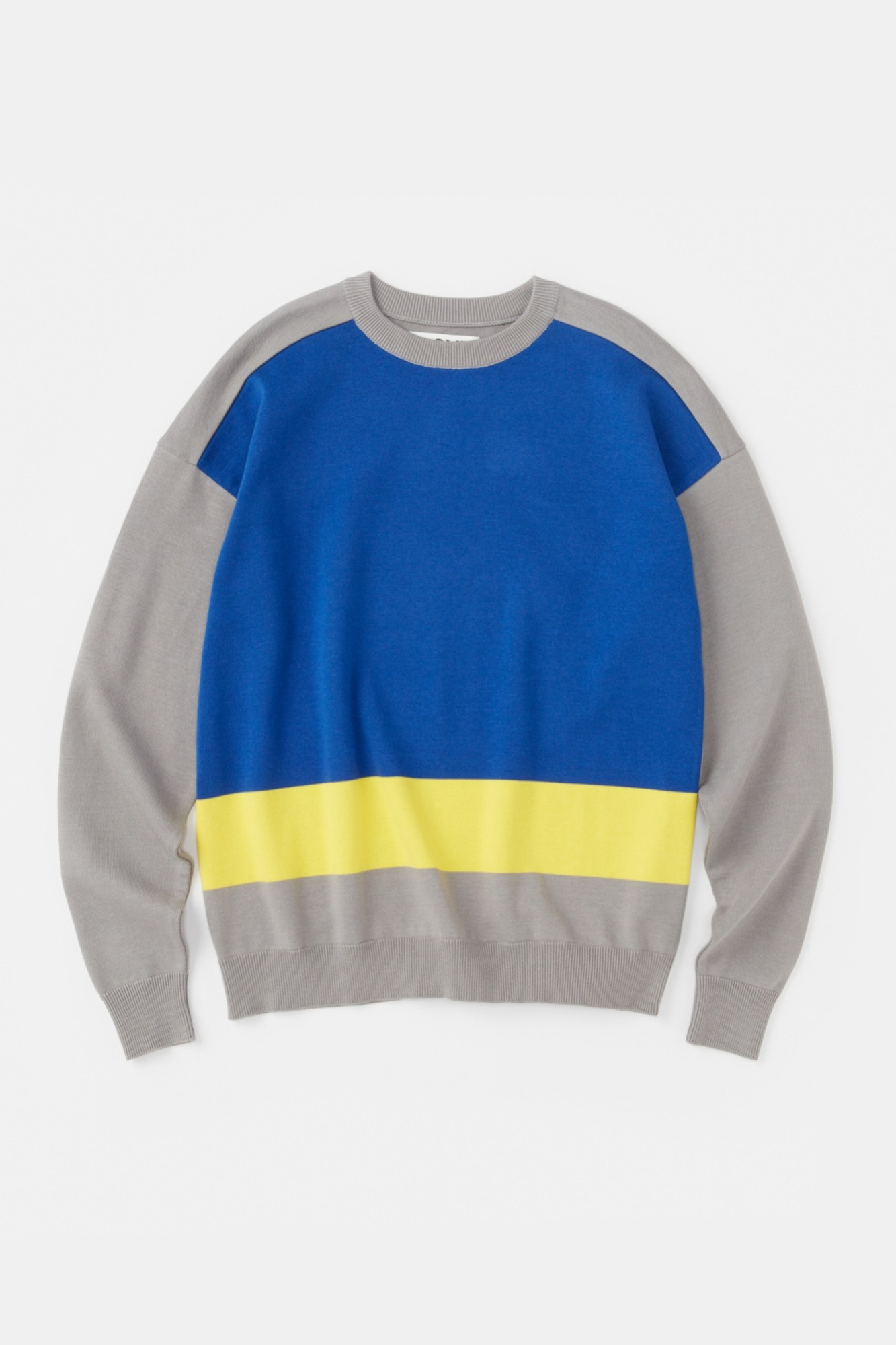 "ALOYE G.F.G.S. Cotton Knitted Sweater ""Grey"""