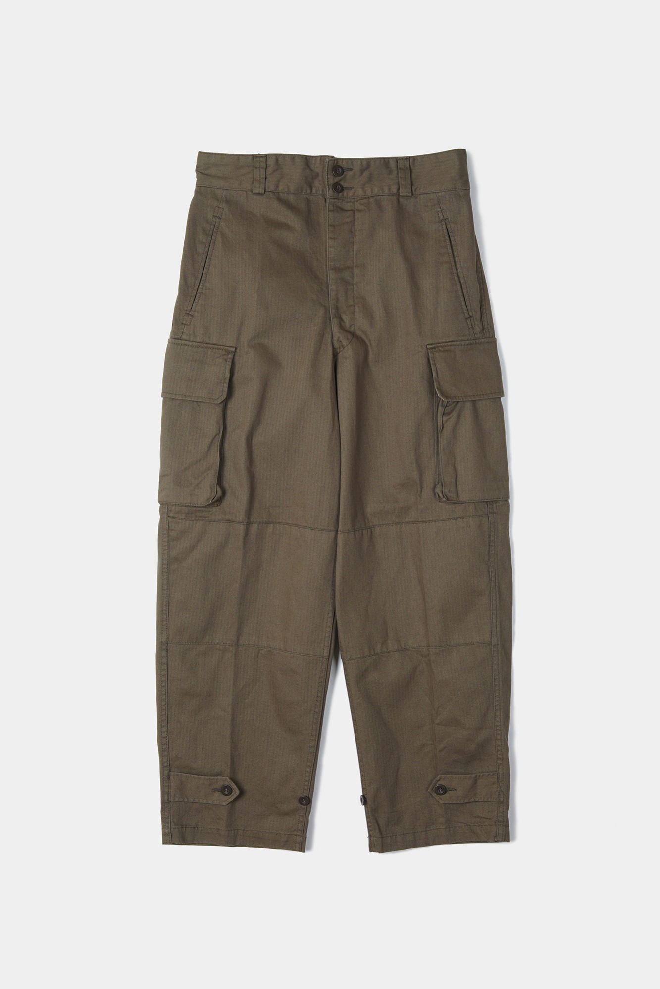 "YMCL KY French Military M47 Field Pants ""Olive"""