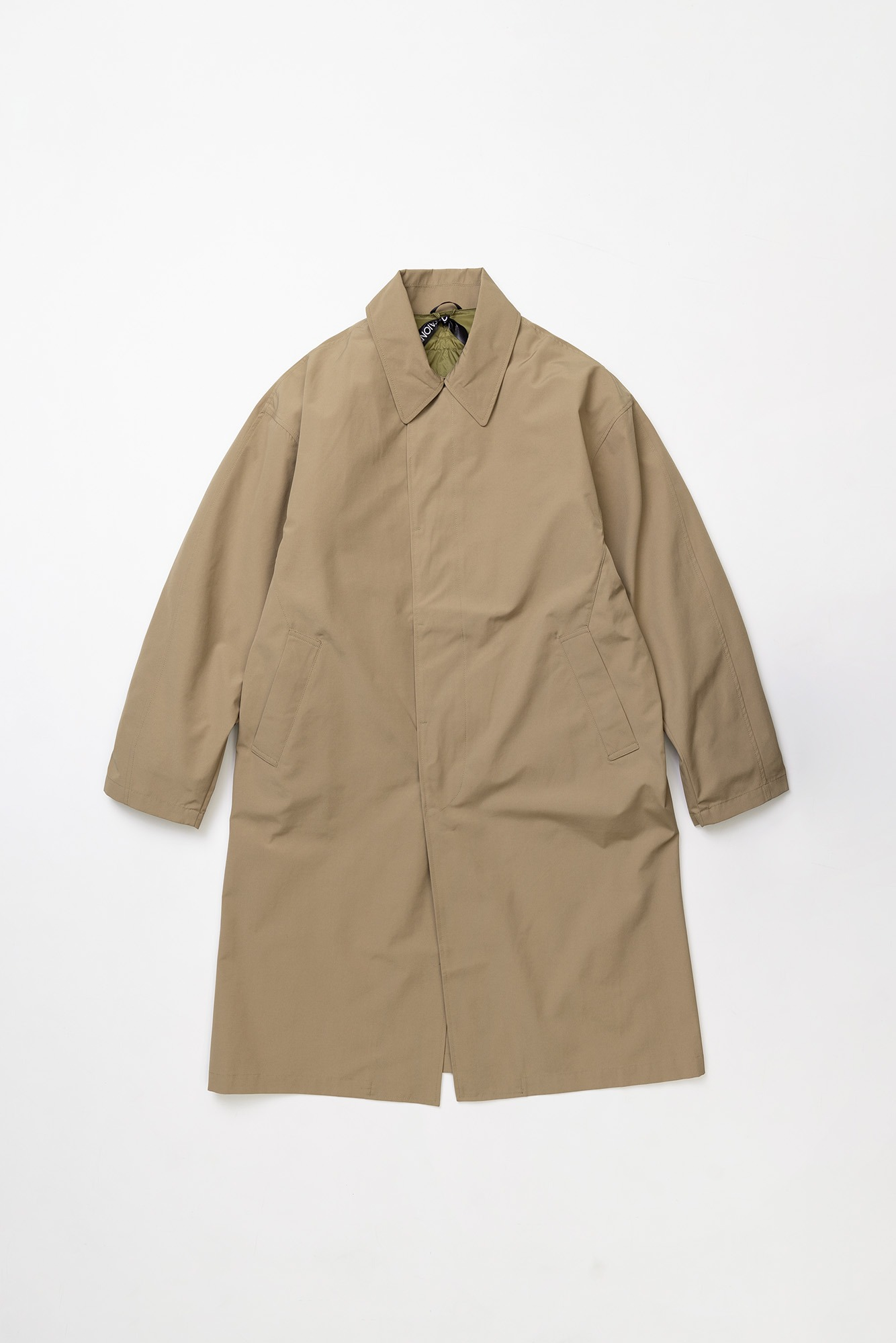 "TAION CR Bal Collar Coat Set ""Beige/Beige"""