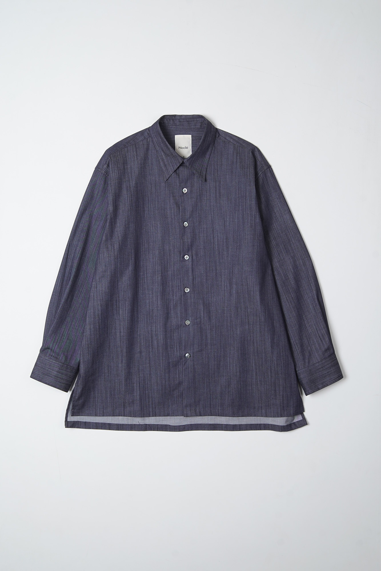 "Noclé Oversized Shirts ""Dark Blue"""
