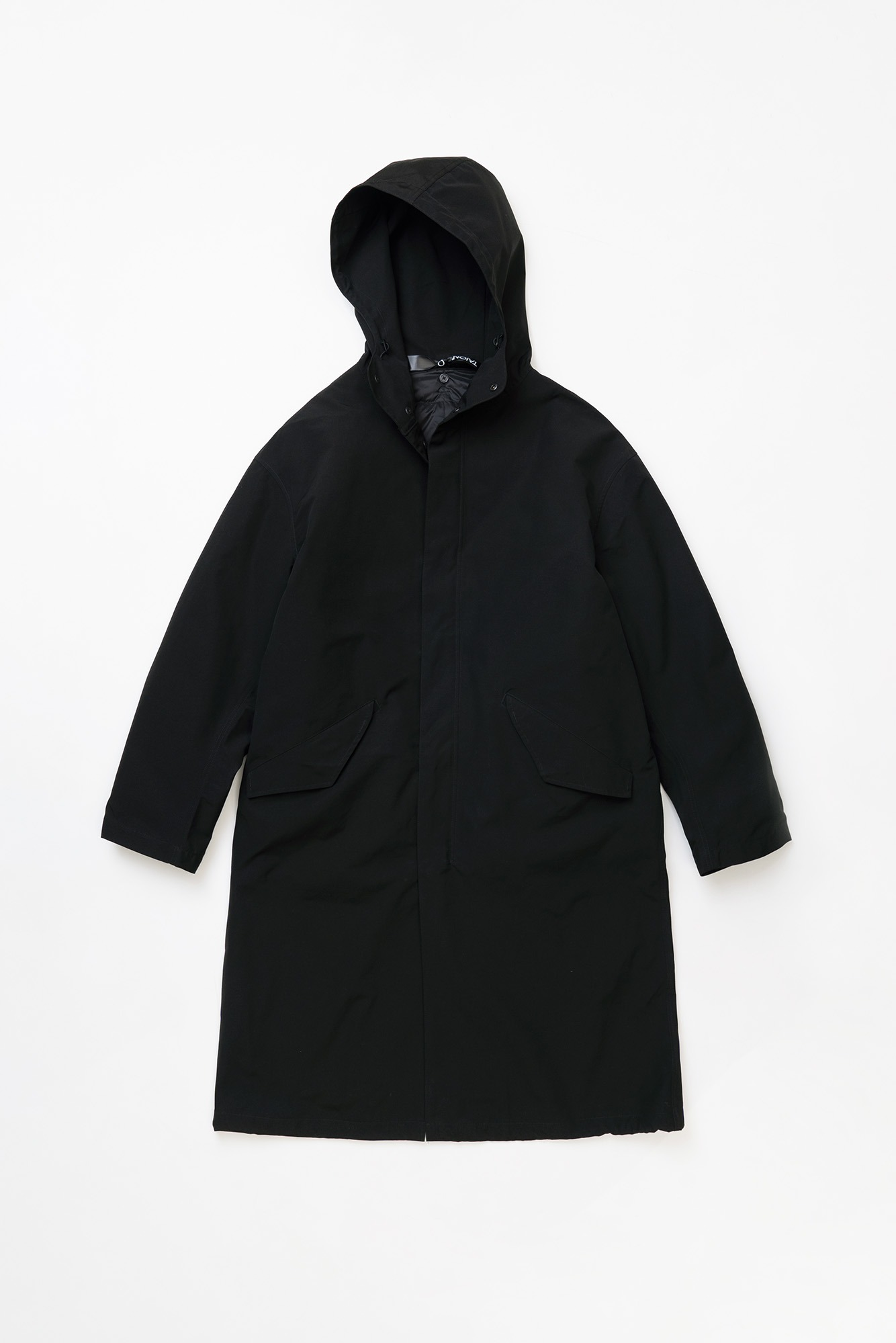 "TAION CR Hood Coat Set ""Black/Black"""