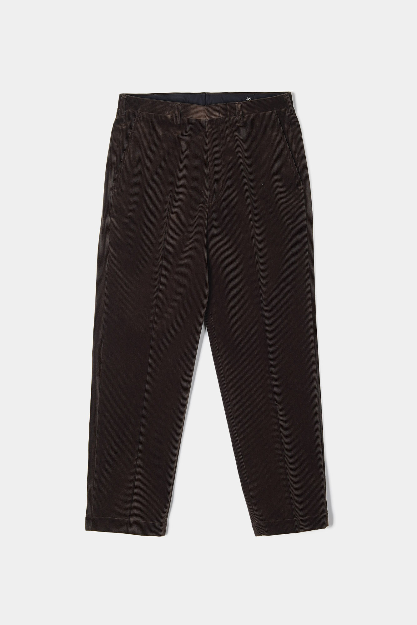 "KAPTAIN SUNSHINE Corduroy Trousers ""Brown"""