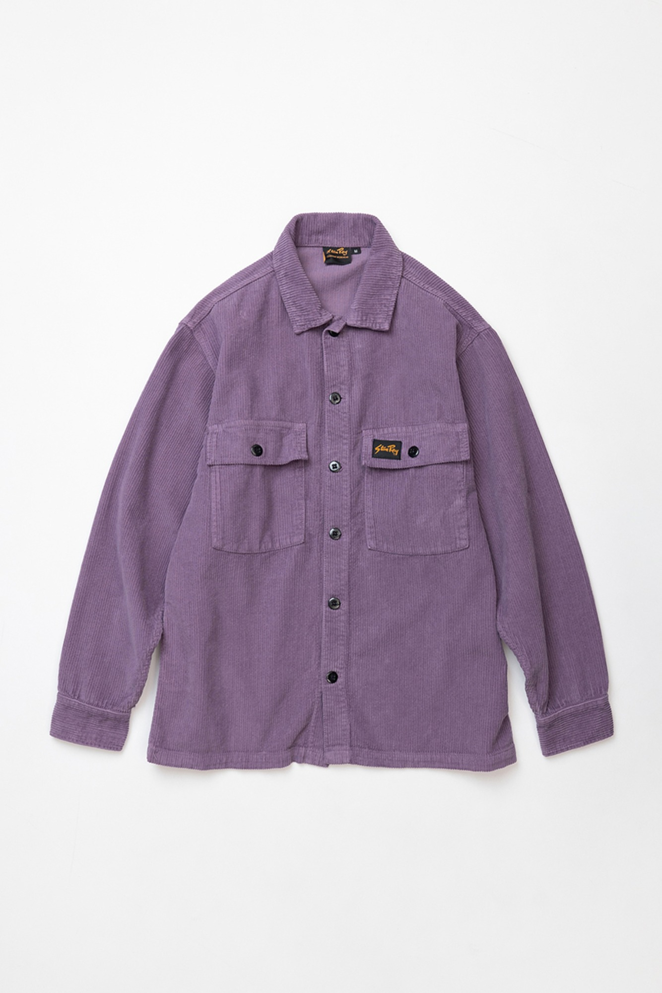 "STAN RAY Cord CPO Shirt ""Crushed Purple Cord"""